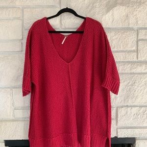 Boxy, Oversize Free People Sweater (Med.)
